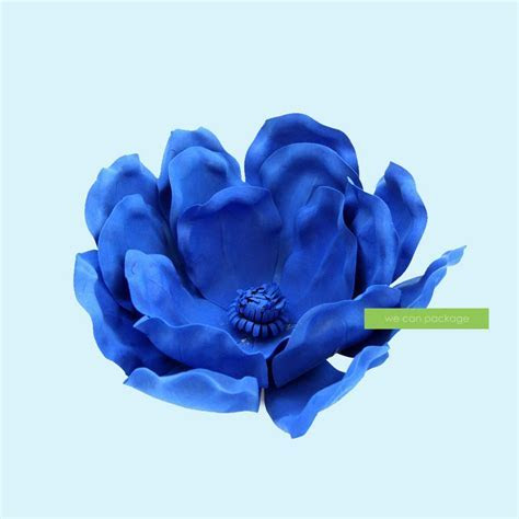 Royal Blue Magnolia Flowers   We Can Package