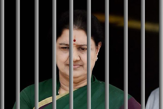GAME OVER: Sasikala Natarajan Back to Jail