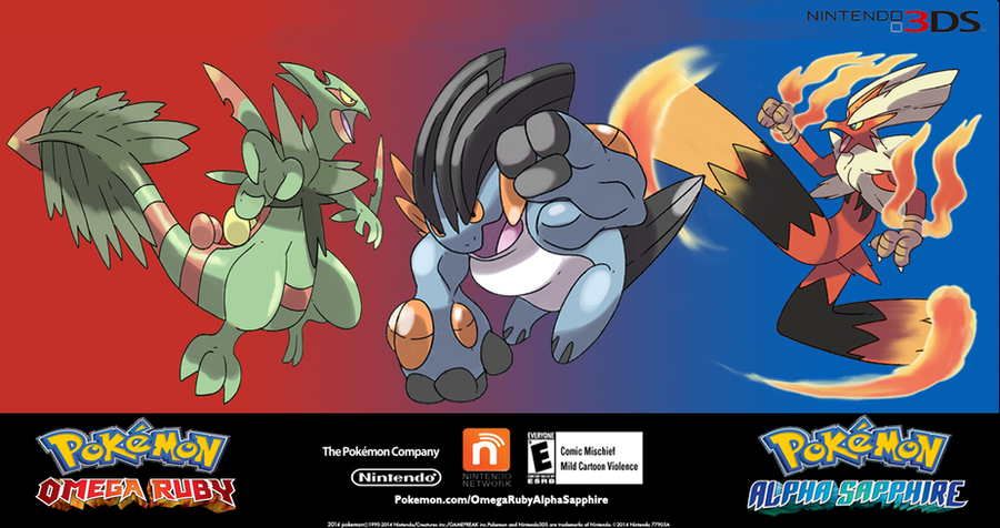 Mock Promo for Pokemon Omega Ruby Alpha Sapphire by