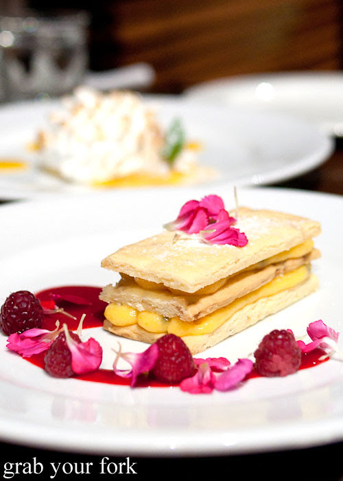 macadamia mille feuille at redsalt canberra