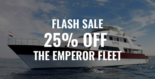Flash Sale: Up to 25% Off the Emperor Fleet