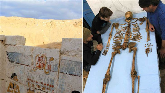 "Mysterious 3,650 year-old pharaoh and ""lost dynasty"" found in Egypt"