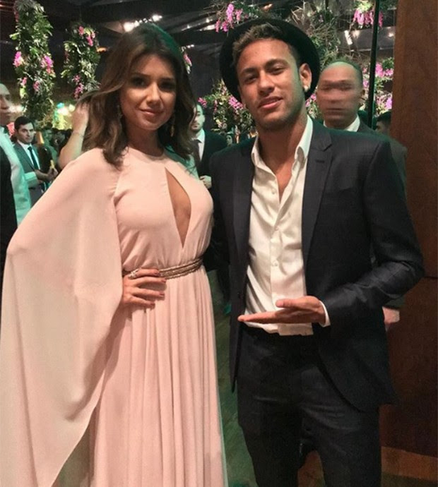 Paula Fernandes e Neymar (Foto: Reprodução/ Instagram)