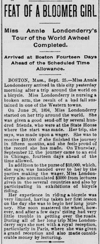 Londonderry Tour Complete (1895)
