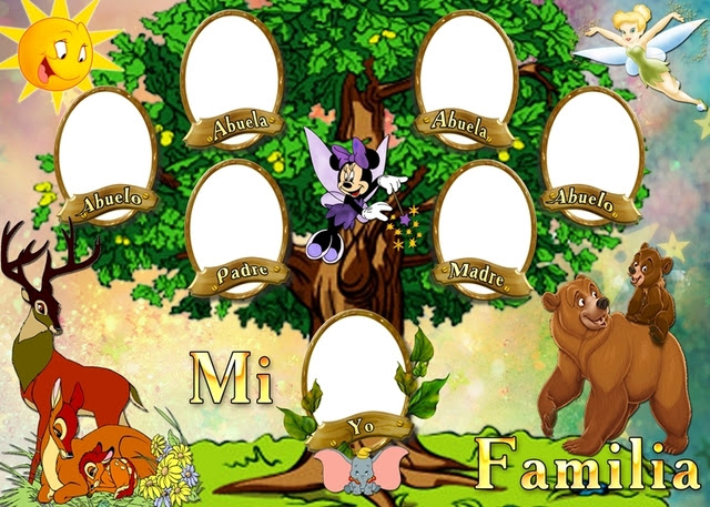 árbol Genealógico El árbol Familiar
