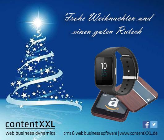 Adventskalender Tag 16: SONY Smart Watch 3 SWR50 für Android sponsored by contentXXL | OnlineMarketing.de