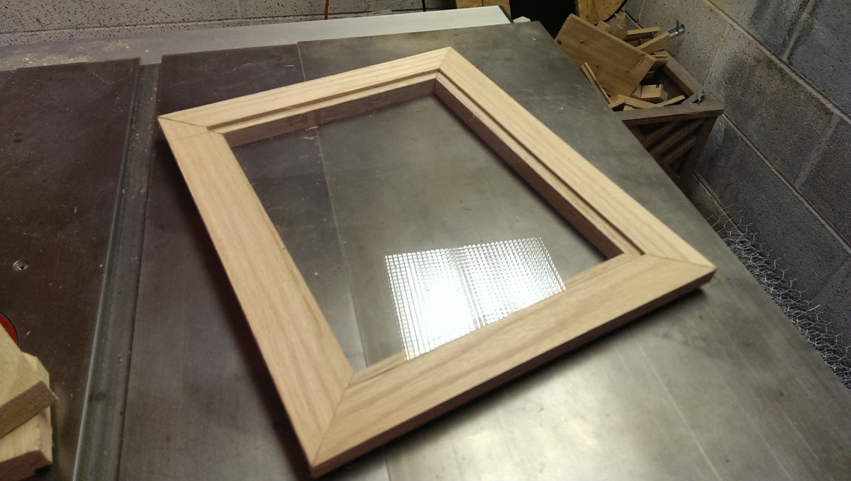 How To Make A Picture Frame Did It Myself