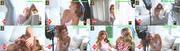 Isabel Silva sensual na produção de um anúncio televisivo