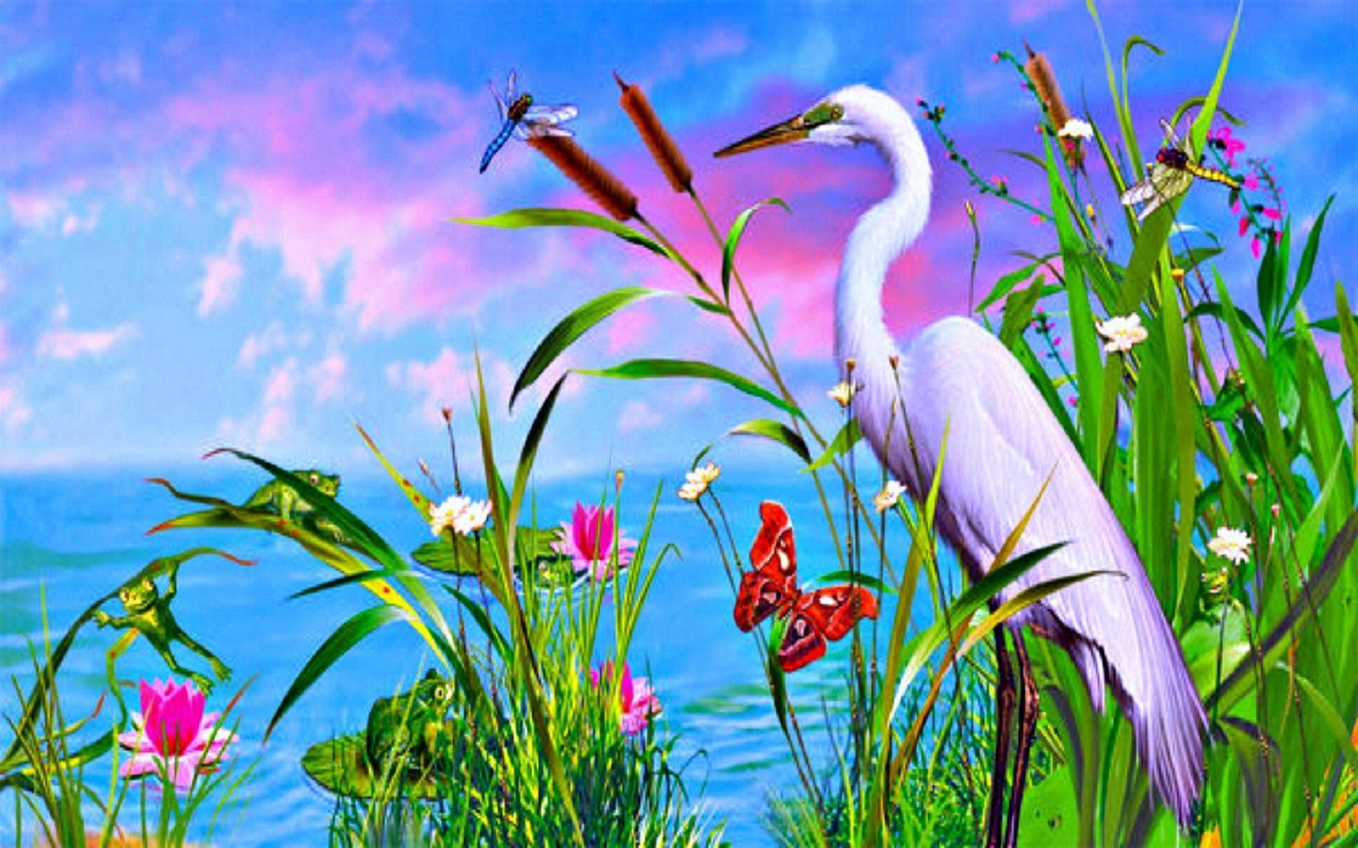 Pemandangan Indah Hd Wallpaper Desktop Layar Lebar Definisi