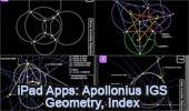 iPad Apps: Apollonius, Interactive Geometry Software IGS.