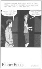 comics ad - Perry Ellis NYT06-02-06