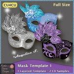 Mask Template 1 - Layered Template CU4CU
