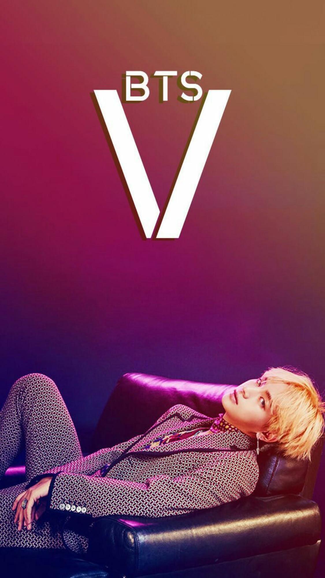 V Of Bts Wallpaper