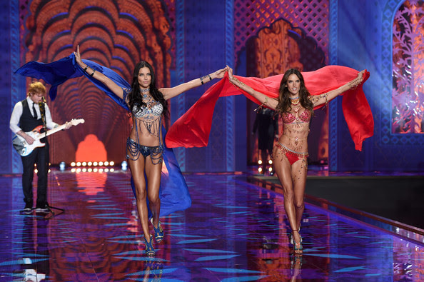 Adriana Lima and Alessandra Ambrosio Make a Dramatic Entrance