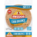 Mission Taco Size Carb Balance Whole Wheat Tortillas - 12oz/8ct