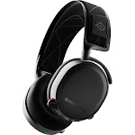 SteelSeries - Arctis 7 Wireless DTS Gaming Over-The-Ear Headset for PC, PlayStation 5|4 - Black
