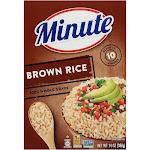 Minute Instant Whole Grain Brown Rice - 14oz