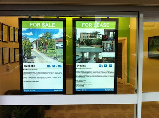 Why Should I as a Realtor Use Digital Signage?