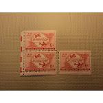 USPS Scott C47 6c 50TH Anniversary Of Powered Flight 1953 Mint NH OG 3 Stamps -- New