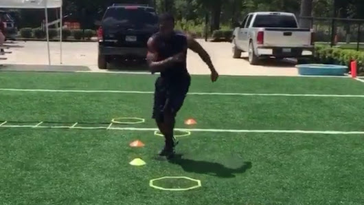 Watch new Eagles rookie Eric Rowe show off his amazing footwork