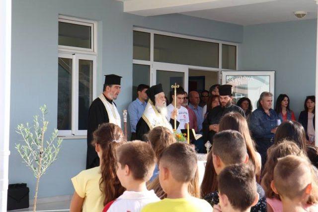 Θεσπρωτία: Αγιασμός στα σχολεία της Θεσπρωτίας