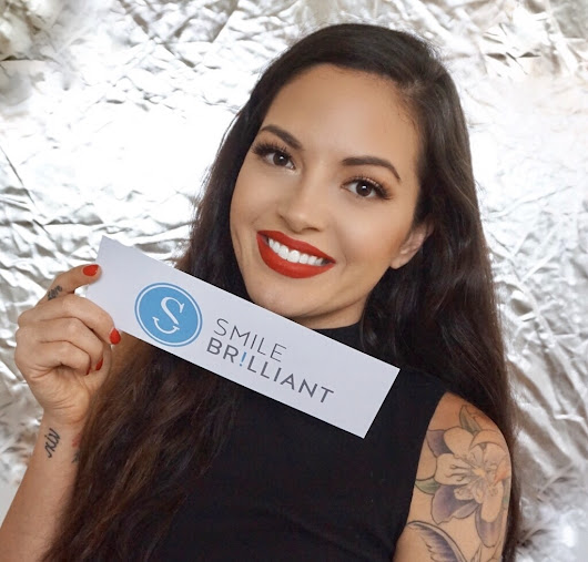 Professional Teeth Whitening at Home with Smile Brilliant & Giveaway