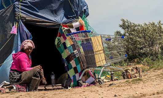 Fleeting fixtures and precarious lives in the migrant camp of Fortress Calais | World news | The Guardian