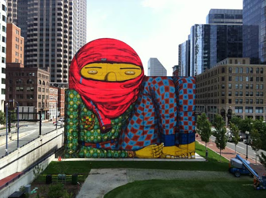 Os Gemeos visiting Milan, Italy this April for Outside the Cube - Mr Pilgrim
