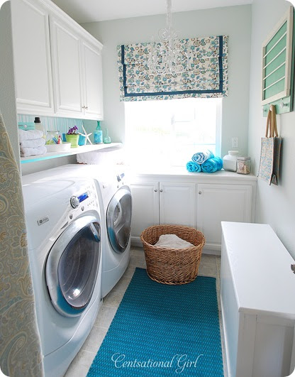 Centsational Girl » Blog Archive Laundry Room Reveal