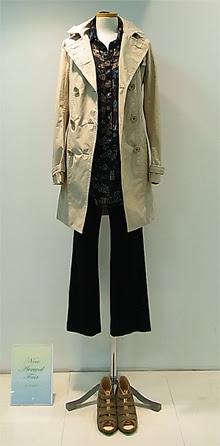 ソニア 春の新作ファッション スプリングコート