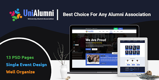 UniAlumni - University Alumni PSD Template by codeboxr | ThemeForest