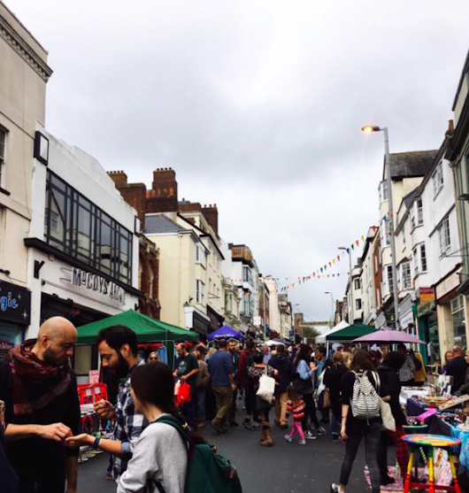 The Fore Street Flea, Exeter