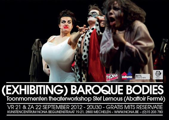 "Flyer workshop ""Baroque Bodies"" (2012)."