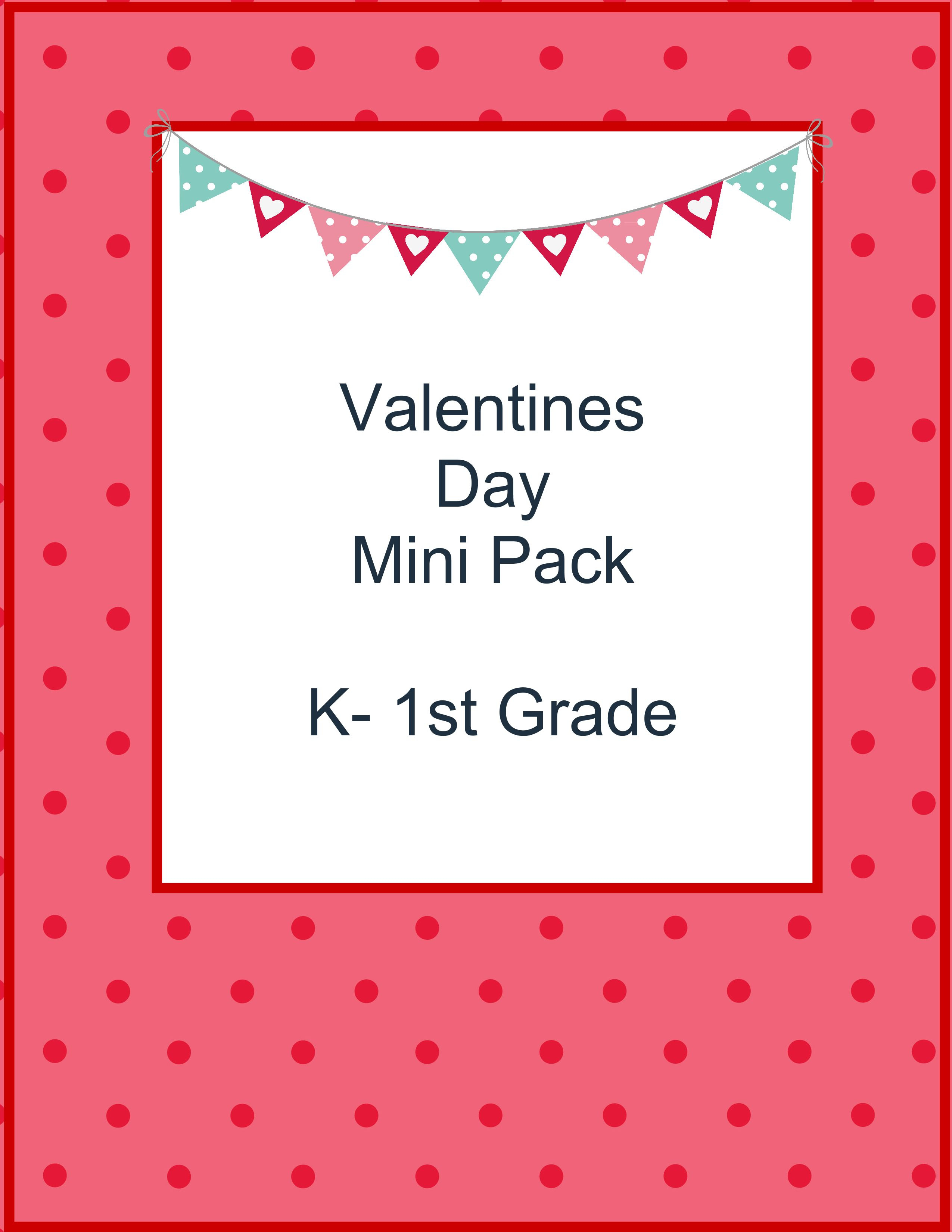 Valentines Day Mini Pack by The Relaxed Homeschool