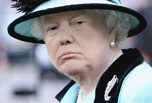 15+ Hilarious Trump And Queen Mash-Ups That Will Make America Great Britain Again