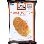 Food Should Taste Good Sweet Potato Tortilla Chips - Sweet Potato - 5.5 Ounce -PACK 12