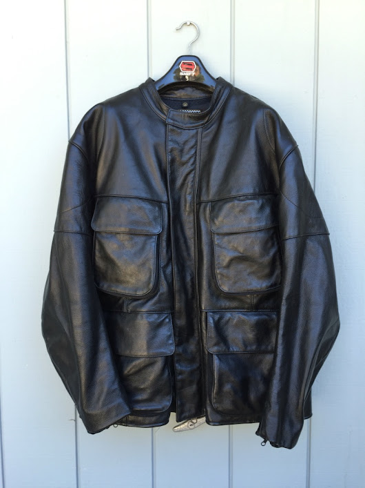 letgo - Vanson Teton Black Leather Motorc... in Capitola, CA