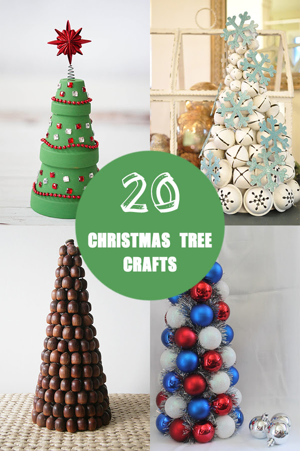 20 Adorable Christmas Tree Crafts To Decorate Your Home