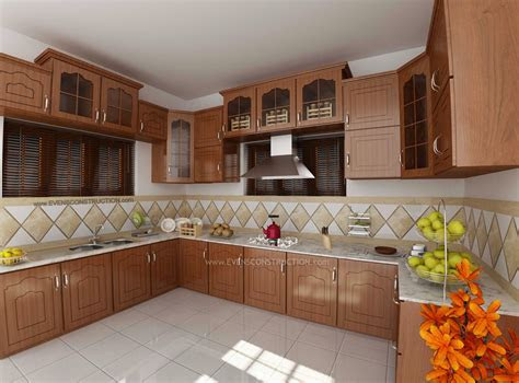 modular kitchen  kerala home design amazing