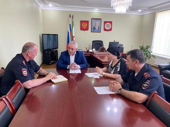 Власти города Назрани Ингушетии будут взаимодействовать сполицейскими входе сентябрьских выборов