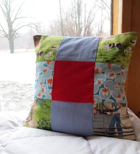 little spring pillow