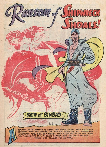 Son of Sinbad 01 splash page joe Kubert