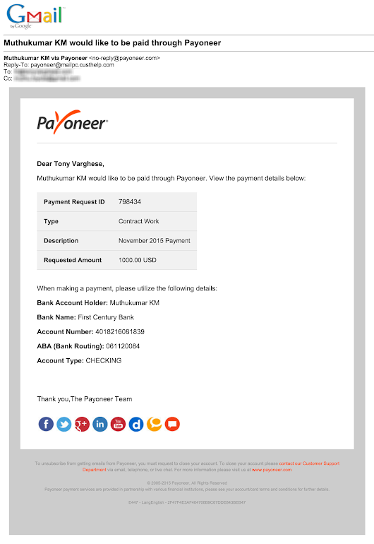 Our $1000 Payoneer Experiment | Zilra Blog
