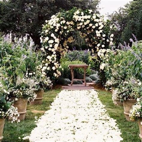 Beautiful Ceremony Decor Inspiration   Aisle Arches : Chic