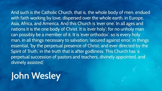 "Wesley's explanation of ""a slender part of religion."" - Unsettled Christianity"