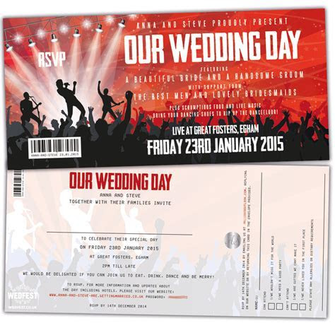 Concert Themed Wedding   WEDFEST