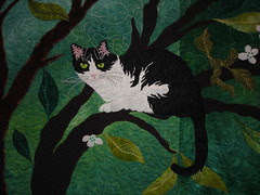A Quilter's Menagerie (detIail) by: Ann Fahl
