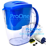 ProOne Water Filter Pitcher with Fruit Infuser. Includes 1 ProOne G2.0 M Filter Element.