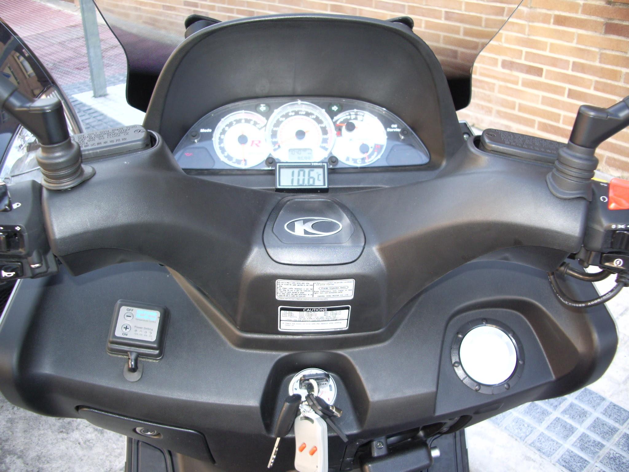 Sistemas alarmas termometro moto exterior - Termometro interior exterior ...