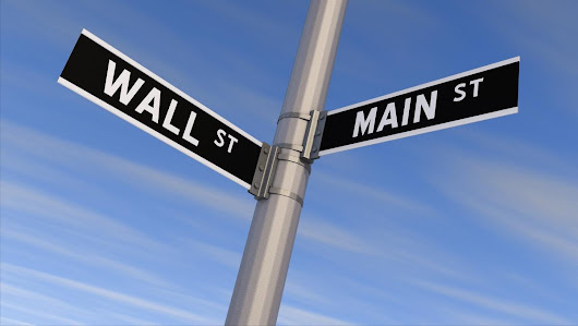 Revealing the dangerous disconnect between Wall Street and Main Street - The Business Journals